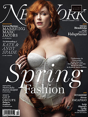 Mad Men Actress Christina Hendricks Covers New York Magazine: Hurt by the Scrutiny Over Her Body