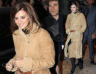 Photos of Penelope Cruz Leaving an Interview in Paris, France