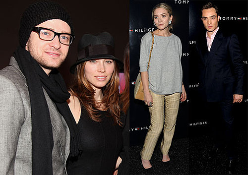 Photos of Ashley Olsen, Justin Timberlake, and Jessica Biel at the 2010 Fall New York Fashion Week Shows 2010-02-19 09:00:36
