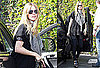 Photos of Heidi Klum in LA After Going to NYC For the Project Runway Show During 2010 Fall New York Fashion Week