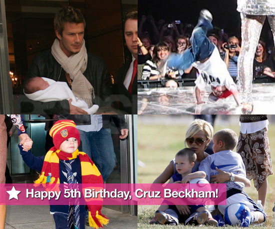 Happy 5th Birthday, Cruz Beckham!