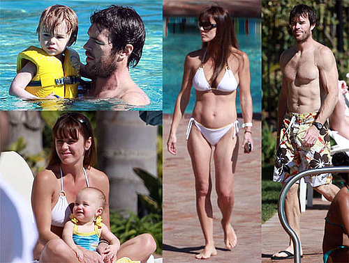 Photos of Trista Sutter in a Bikini With Shirtless Husband Ryan Sutter After Jason Mesnick and Molly Malaney's Wedding
