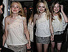 Photos of Dakota Fanning Celebrating Her 16th Birthday in LA With Sister Elle Fanning