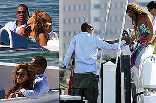 Photos of Beyonce Knowles and Jay-Z on A Yacht In Miami