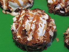 Recipe For Homemade Variation of Samoas Girl Scout Cookies