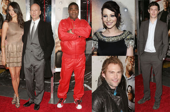 Photos of Adam Brody, Bruce Willis and Tracy Morgan at the NYC Cop Out Premiere