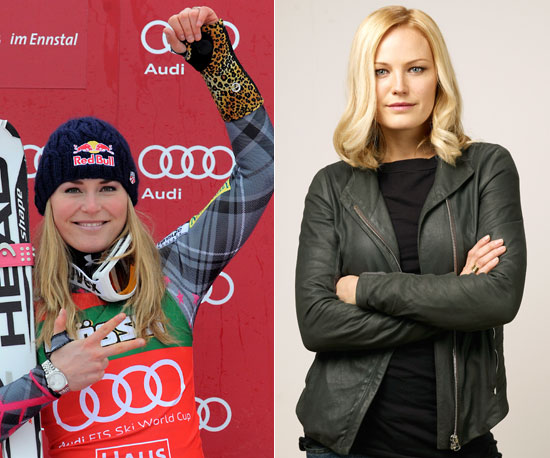 Lindsey Vonn Played by Malin Akerman