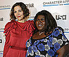 Slide Photo of Maggie Gyllenhaal and Gabourey Sidibe in NYC