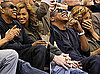 Photos of Beyonce and Jay-Z at a Lakers Game