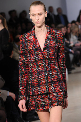 Raf Simons Digs Up '90s Plaids, Sets to Sci Fi Soundtrack for Jil Sander Fall 2010