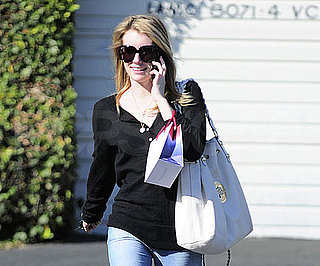 Slide Photo of Emma Roberts in LA