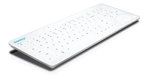 Keyboard That Keeps Germs Away