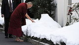Dalai Lama Visits the White House