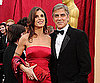 Slide Photo of Geroge Clooney at 2010 Oscars