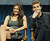 Slide Photo of Nina Dobrev and Paul Wesley Answering Questions For Fans in Beverly Hills