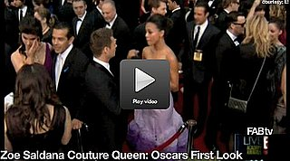 Zoe Saldana in Givenchy at 2010 Oscars