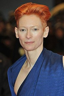 Tilda Swinton Launches a Perfume 2010-03-01 11:59:41