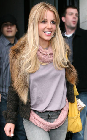 Britney Spears Is a flaxen...over!