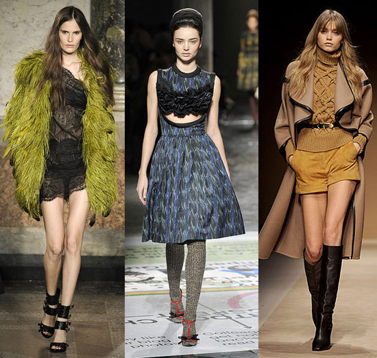 2010 Fall Milan Fashion Week: Alluring, Artsy, Awesome