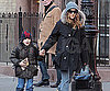 Slide Photo of Sarah Jessica Parker and James Wilkie in NYC