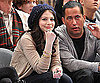 Slide Photo of Michelle Trachtenberg Watching the New York Knicks Game at MSG