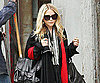 Slide Photo of Mary-Kate Olsen Leaving NYC Apartment