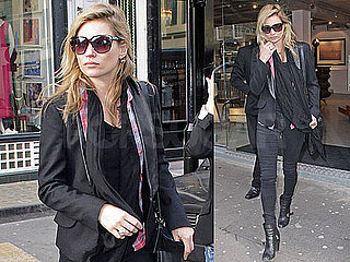 Photos of Kate Moss Shopping in London With James Brown