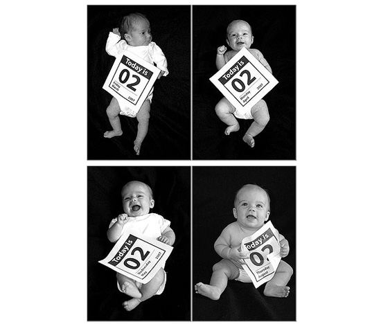 Capture Baby's Growth With Monthly Photo Sessions