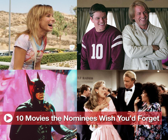 10 Movies the Oscar Nominees Wish You'd Forget