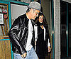 Photos Slide of George Clooney and Elisabetta Canalis Leaving an LA Restaurant After Dinner With John Krasinski and Emily Blunt