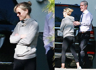 Photos of Reese Witherspoon And Jim Toth Near His Office in LA