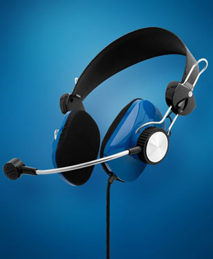 The Commander Video Game Headphones