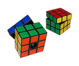 Rubik's Cube Salt and Pepper Shakers ($15 each)