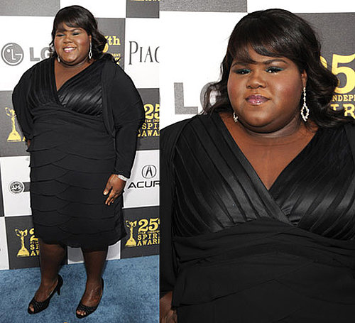 Gabourey Sidibe at 2010 Independent Spirit Awards 2010-03-05 19:34:55