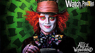 Review of Johnny Depp in Tim Burton's Alice in Wonderland