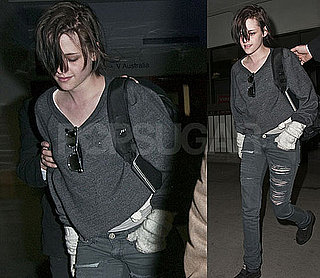 Kristen Stewart Is Oscars Bound as Robert Films in London