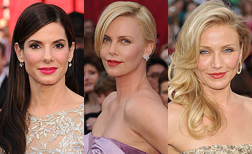 Lipstick Poll from 2010 Oscars With Sandra Bullock, Charlize Theron and Cameron Diaz