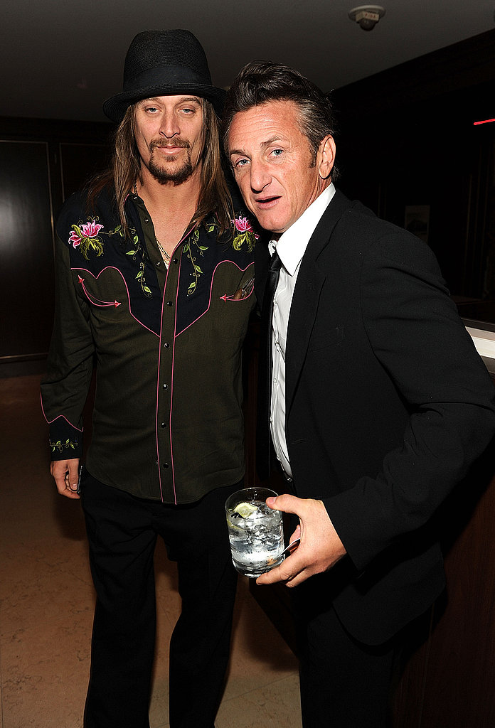 Kid Rock and Sean Penn