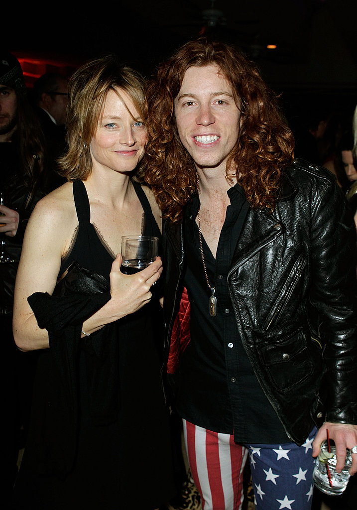 Jodie Foster and Olympic Gold Medalist Shaun White
