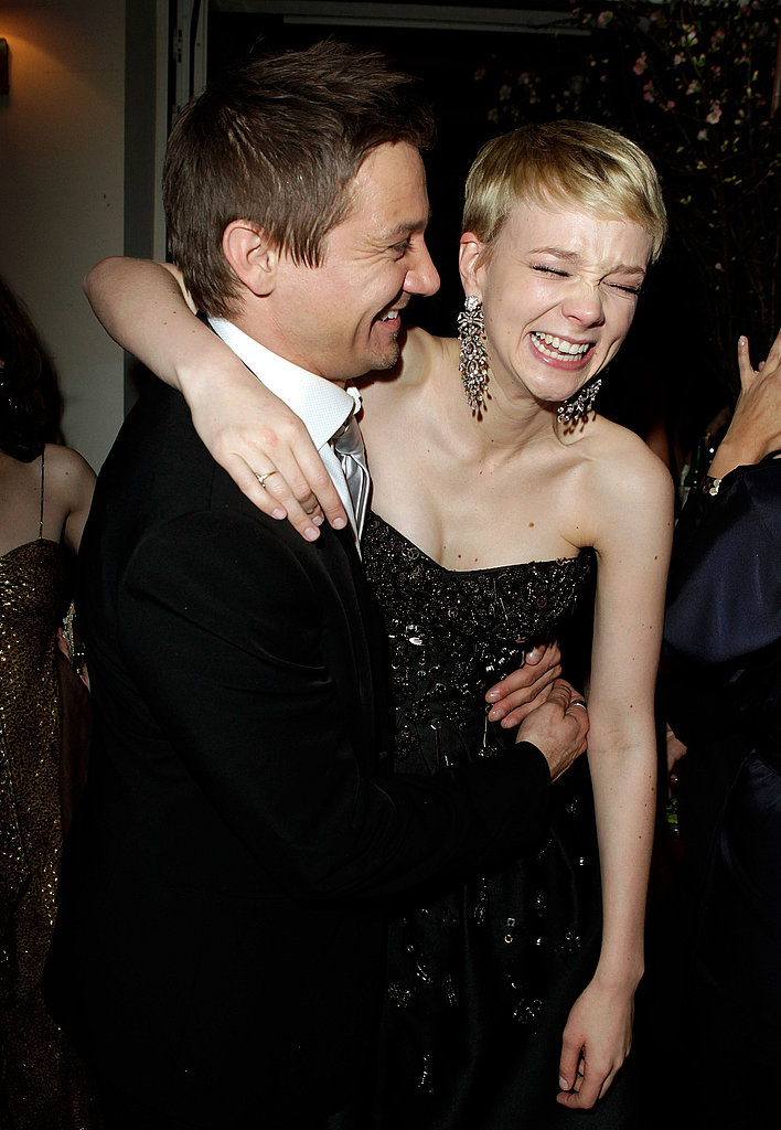 Jeremy Renner  and Carey Mulligan