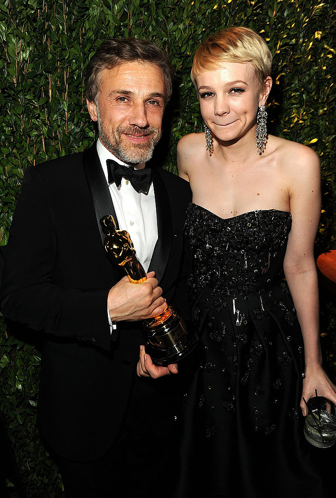 Christoph Waltz and Carey Mulligan