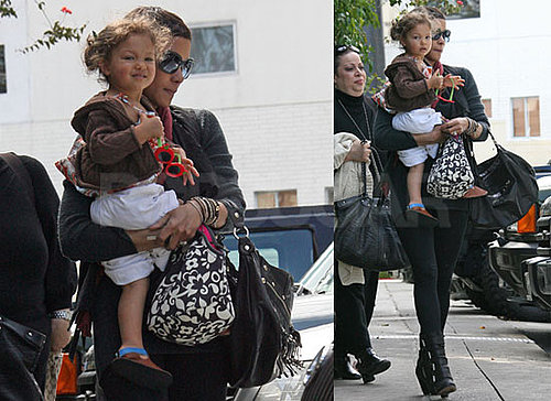 Photos of Halle Berry and Nahla Aubry Wearing Sunglasses in Los Angeles