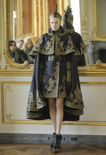 Lee Alexander McQueen's Final Collection For Fall 2010: All Angels and Demons