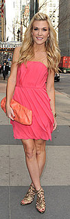 Tinsley Mortimer Wears Pink in New York