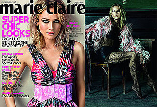 Photos of Diane Kruger on the Cover of Marie Claire UK