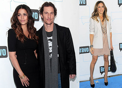 Photos of Matthew McConaughey, Camila Alves and Sarah Jessica Parker at Bravo Upfront Party in NYC 2010-03-11 17:30:33