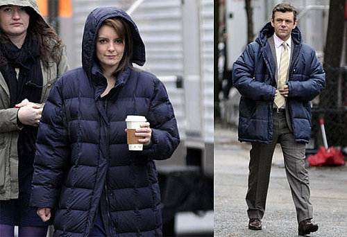 Photos of Tina Fey And Michael Sheen Filming 30 Together in NYC