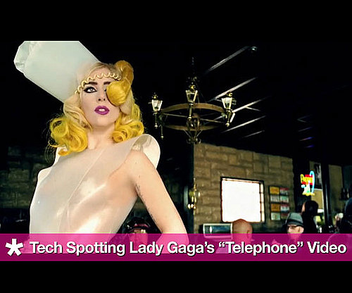 "Tech Spotting in Lady Gaga's ""Telephone"" Video, Gives Shout out to Dune and Star Wars"
