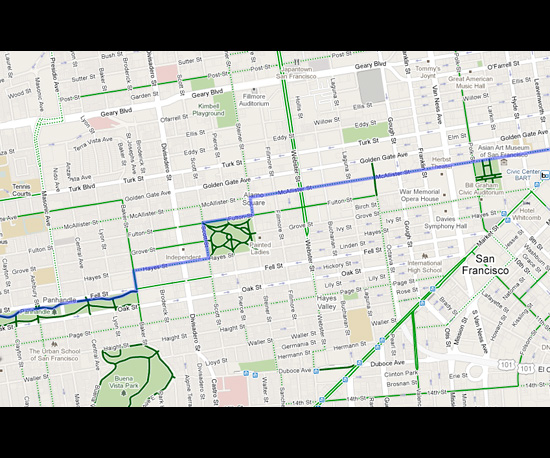 Google Maps For Cyclists