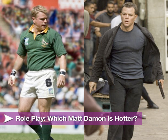 Role Play: Which Matt Damon Is Hotter?